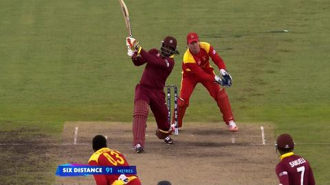 West Indies innings super shots