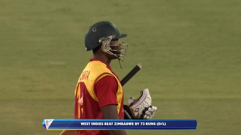 Chatara Wicket – WI vs ZIM