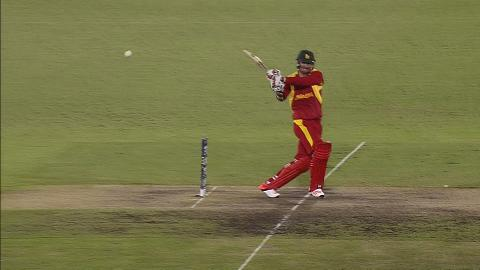 Zimbabwe innings super shots