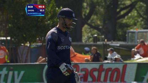 Preston Mommsen Wicket – AFG vs SCO