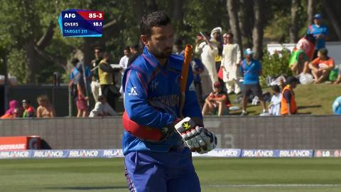 Javed Ahmadi Wicket – AFG vs SCO