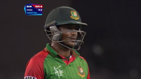 Bangladesh innings wickets