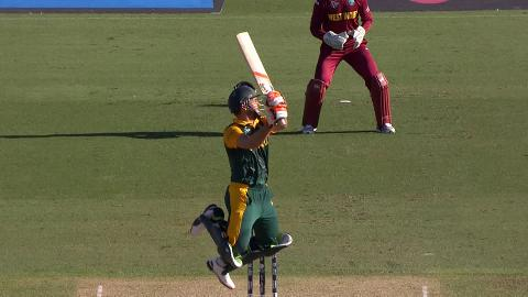 South Africa innings super shots