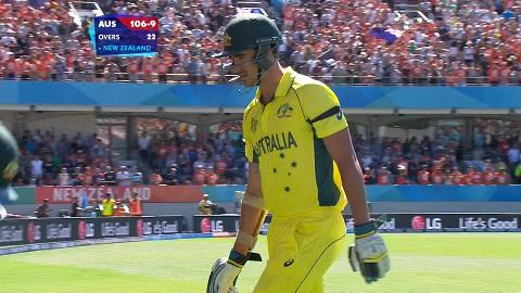 Mitchell Starc Wicket – AUS vs NZ