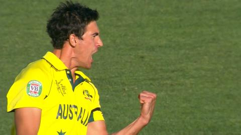 Mitchell Starc , 6-28 vs New Zealand