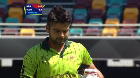 Ahmed Shehzad Wicket – PAK vs ZIM