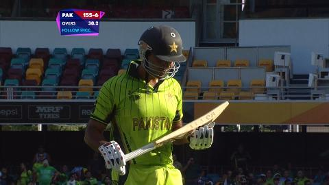 Sohaib Maqsood Wicket – PAK vs ZIM