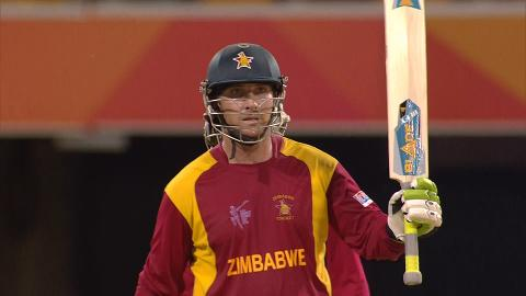 Zimbabwe innings highlights