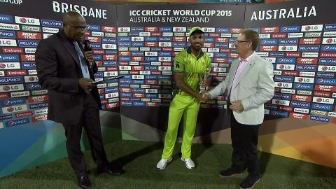 Player of the Match – Wahab Riaz
