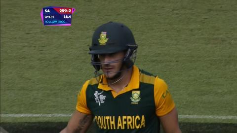 Faf du Plessis Wicket – SA vs IRE