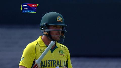 Aaron Finch Wicket – AUS vs AFG