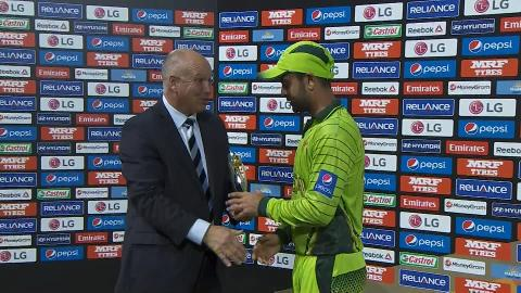 Player of the Match –  Ahmed Shehzad
