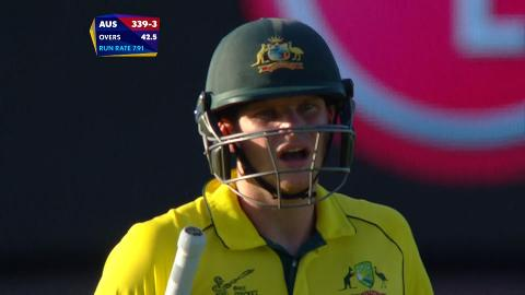 Steve Smith Wicket – AUS vs AFG