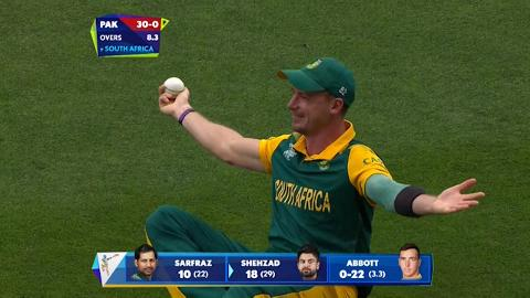 Dale Steyn amazing catch v Pakistan Cricket World Cup