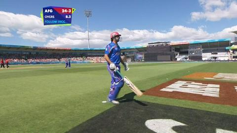 Stanikzai Wicket – AFG vs NZ