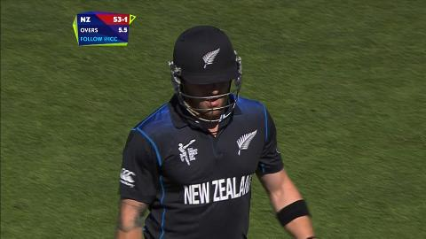 Brendon McCullum Wicket – AFG vs NZ