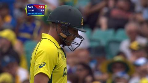 Aaron Finch Wicket – AUS vs SL