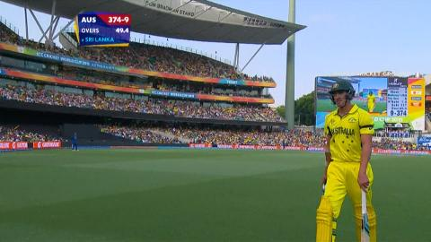 Mitchell Starc Wicket – AUS vs SL