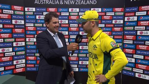 Match Presentation – AUS vs SL