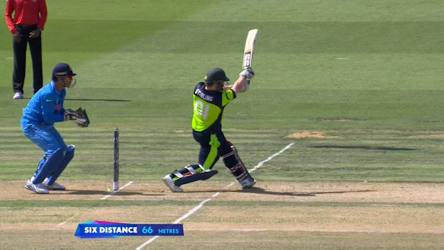 Stirling hits CWC15 Six No. 300