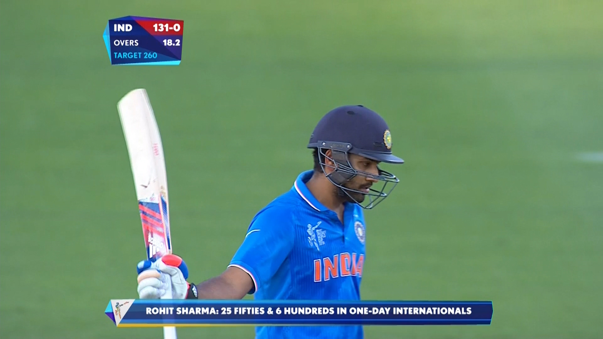 Rohit Sharma, 64 vs Ireland