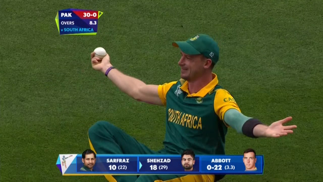 Top 5 Catches at Cricket World Cup 2015