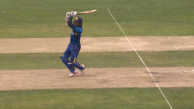 Sri Lanka innings super shots