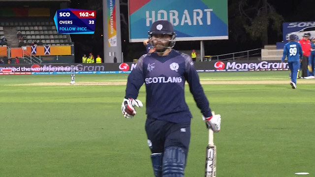 Preston Mommsen Wicket – SL vs SCO