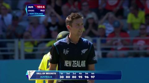New Zealand V Australia at Eden Park CWC15