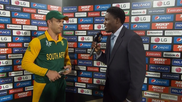 Match Presentation – SA vs UAE