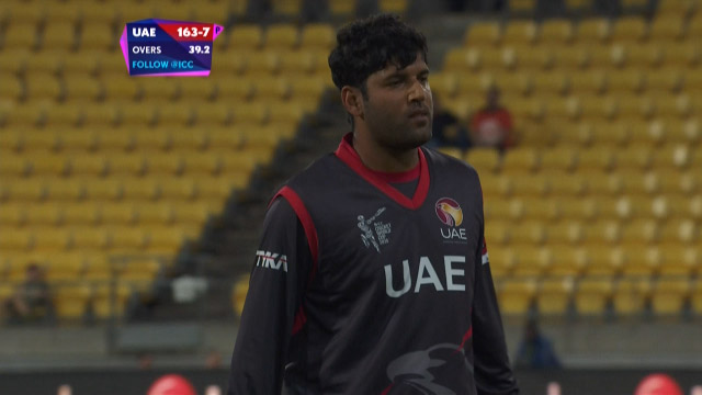 UAE innings wickets