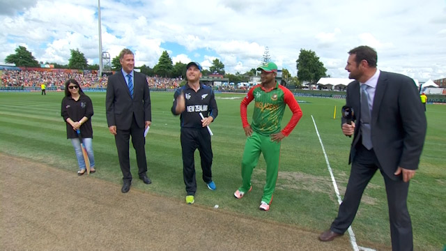 Toss, Pitch Report – BAN vs NZ