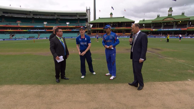 Toss, Pitch Report – ENG vs AFG