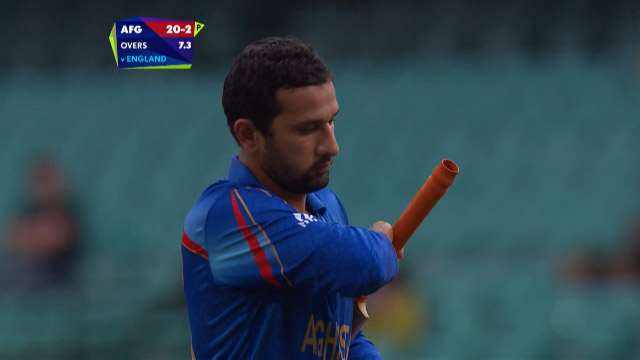 Javed Ahmadi Wicket – ENG vs AFG