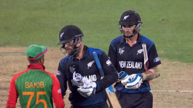 Bangladesh v New Zealand Match Highlights CWC15