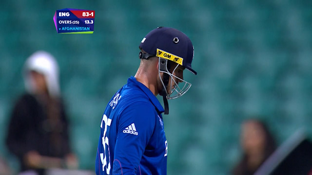 Alex Hales Wicket – ENG vs AFG