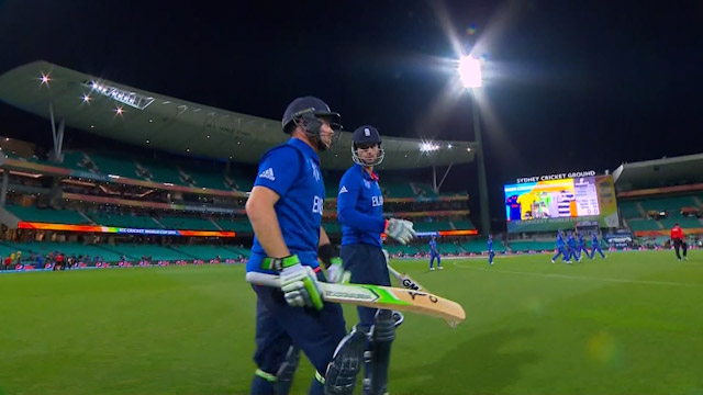 England innings highlights