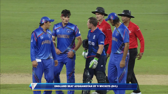 Match highlights – ENG vs AFG