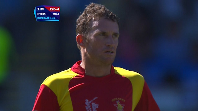Sean Williams Wicket – IND vs ZIM