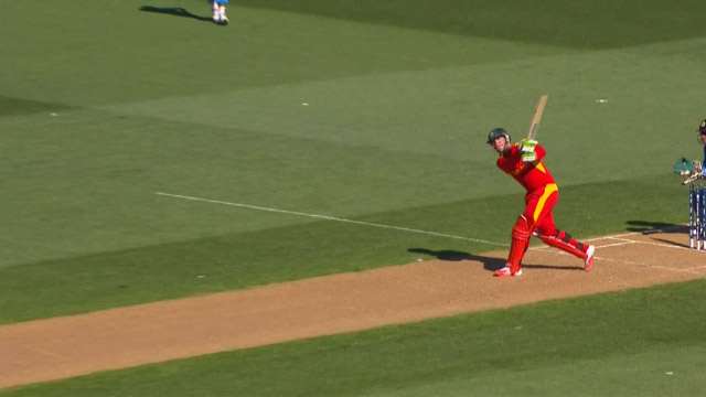 Brendan Taylor Goes HUGE in Auckland