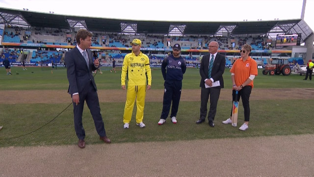 Toss, Pitch Report – AUS vs SCO