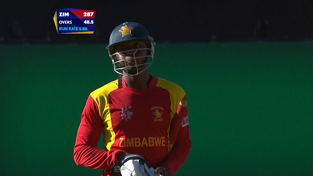 Tendai Chatara Wicket – IND vs ZIM