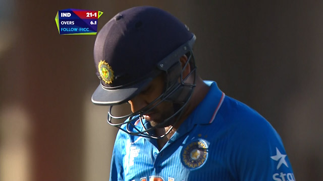 Rohit Sharma Wicket – IND vs ZIM