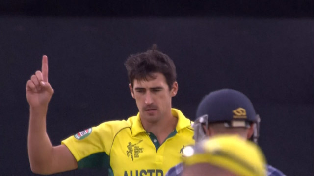 Mitchell Starc , 4-14 vs Scotland