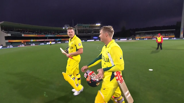 Australia innings highlights