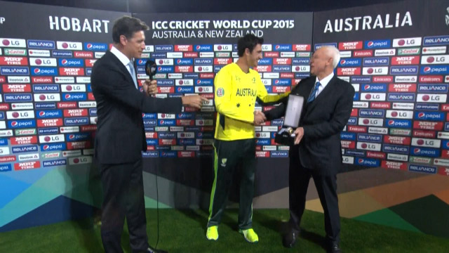 Player of the Match – Mitchell Starc