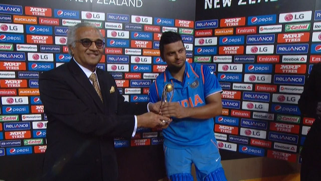 Player of the Match – Suresh Raina