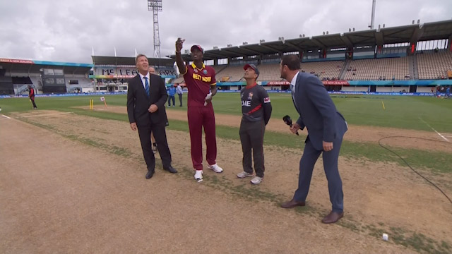 Toss, Pitch Report – WI vs UAE