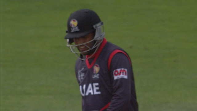 Mohammad Naveed Wicket – WI vs UAE