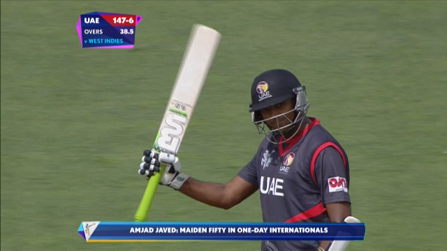 Amjad Javed, 56 vs West Indies